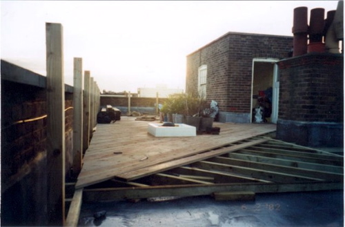 Decking materials decking material roof for Roof decking material options
